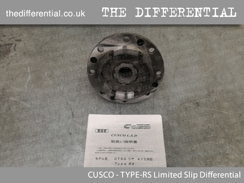 TYPE-RS limited slip differential