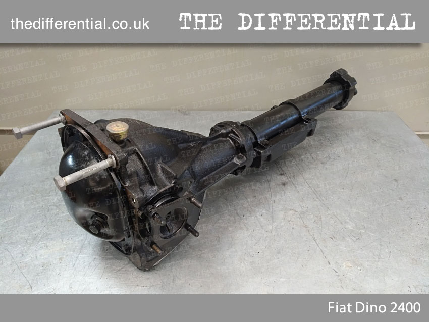 the differential Fiat Dino 2