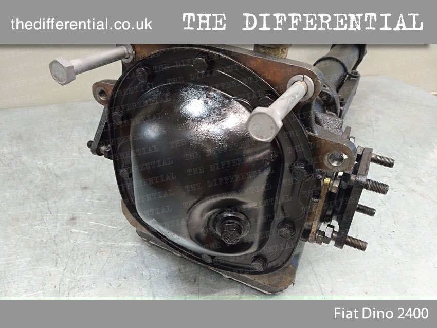 the differential Fiat Dino 3