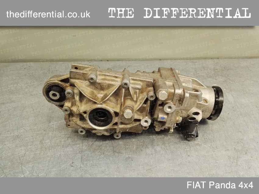 the differential panda 4x4 front 2