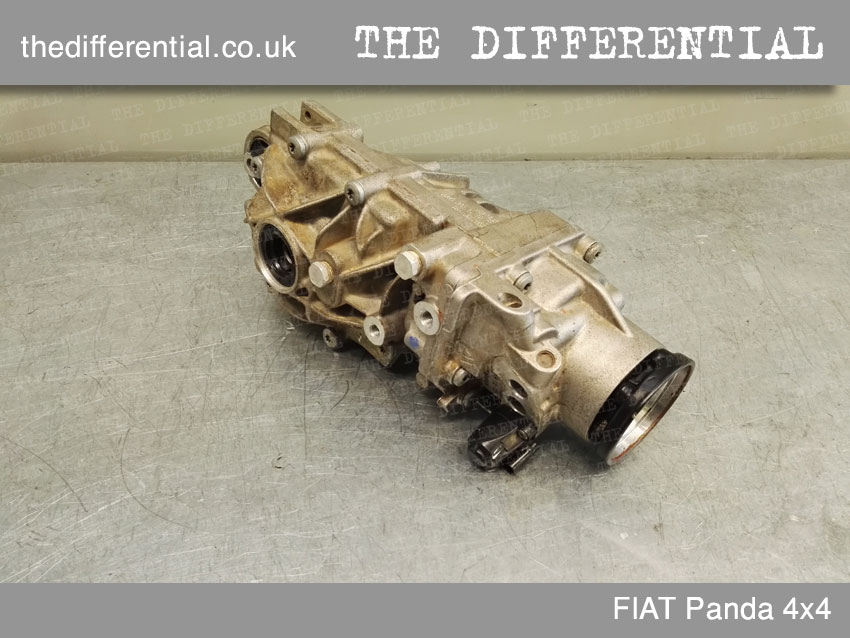 the differential panda 4x4 front 4