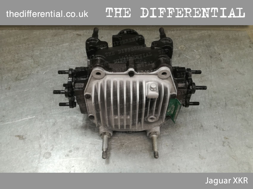 The Differential Jaguar XKR 4