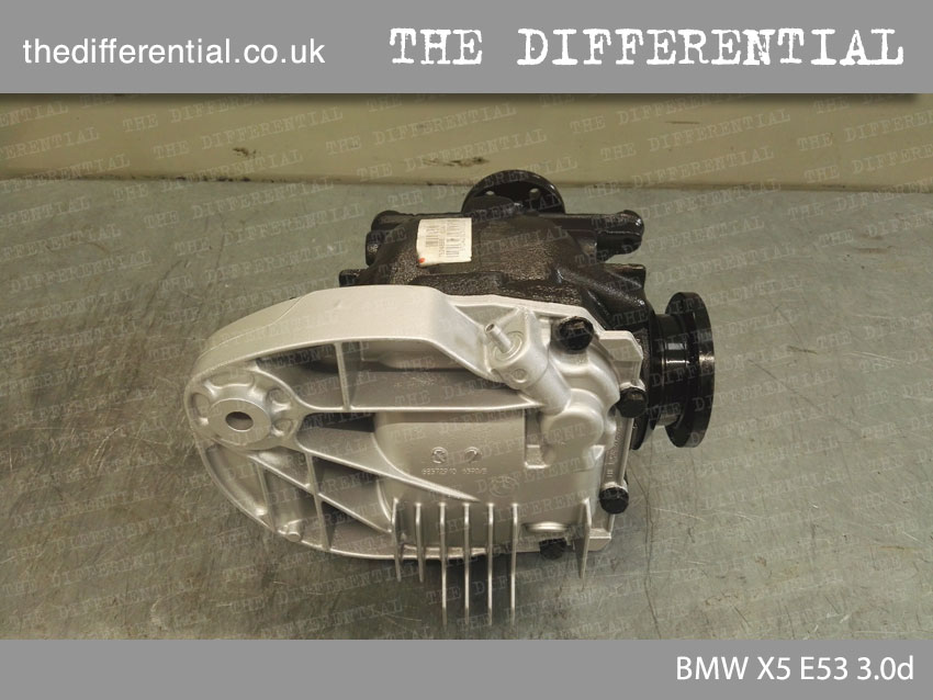 Differential BMW X5 E53 3.0d 4